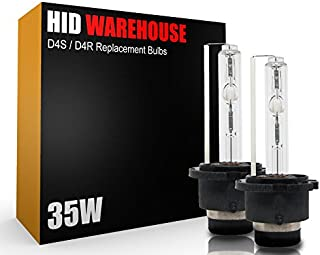 HID-Warehouse HID Xenon Replacement Bulbs - D4S / D4R / D4C - 5000K Bright White (1 Pair) - 2 Year Warranty
