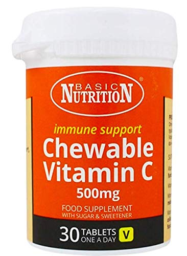 Basic Nutrition Vitamin-C Chewable Tablets 30's