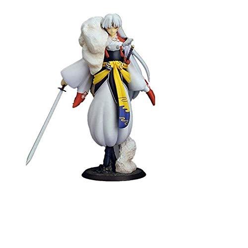 Anime Figur Action Charakter Modell- Play Arts-Inuyasha Figur: Sesshomaru, der Phönix, Sammler Souvenir Puppe Home Auto Statue Handgemachte Dekoration Geschenk für Kinder Teenager Anime Fans 23CM
