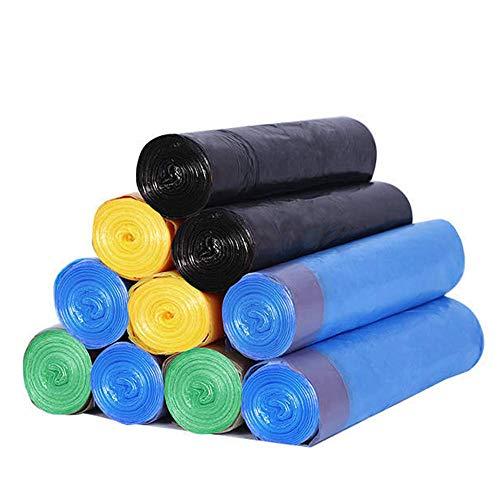 45 * 50CM Haushalt Heavy Duty Abfall-Taschen Garbage-Speicher-Beutel mit Kordelzug for Heim Küche Badezimmer Schlafzimmer Wohnzimmer Büro
