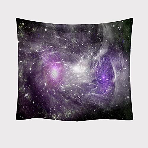 YDyun Tapiz Tapiz Tapiz Tapiz de Pared para Sala de Estar Dormitorio Impresión de la Serie Starlight de Tapiz Decorativo de Tela Colgante