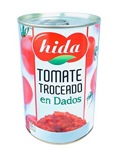 Hida Tomate Natural Triturado 400g x 6 Latas - Total: 2400 g