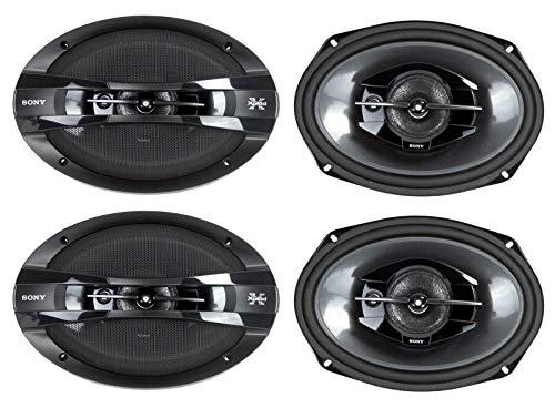 "4) New Sony XS-GT6938F 6x9"" 840 Watt 3-Way Car Coaxial Speakers Stereo XSGT6938F"