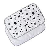 Geneic - Cambiador de pañales para bebé, portátil, impermeable, plegable, para cambiar de pañal