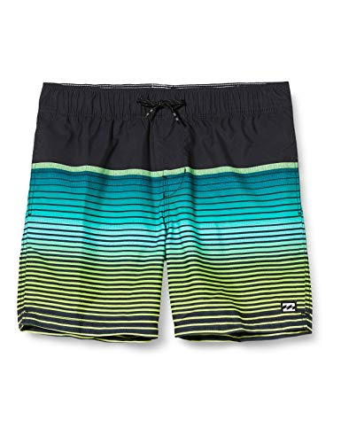 Billabong Jungen Shorts All Day Stripe Boy L, Black, 12, S2LB12