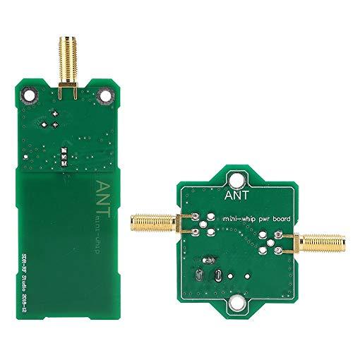 Mini-zweep MF/HF/VHF/SDR-antenne metaal + PC Miniwhip kortegolf actieve antenne voor RTL-Sdr-ontvangsten onderweg