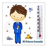 Recuerdos y Regalos de Comunión Para Invitados - Imanes con termómetro: Un Gran Detalle para Comuniones Originales - Pack 20 unidades - ¡Sus Amiguitos Alucinarán!