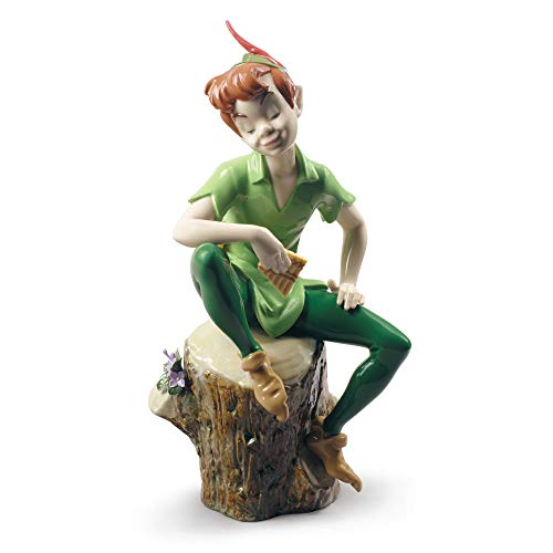 LLADRÓ Figura Peter Pan. Figura Peter Pan (Disney) de Porcelana.