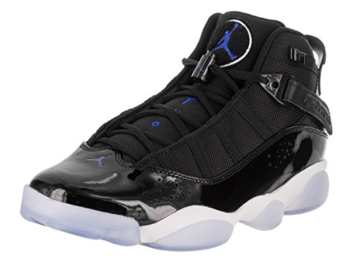 Nike Jordan Schuhe – 6 Rings Schwarz/Blau/Weiß Größe: 44.5
