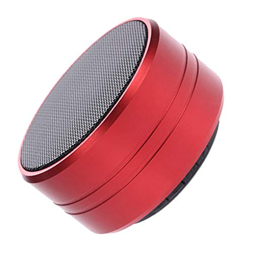 Demino Portable Alloy Bluetooth4.1 Speaker Wireless Mini Handfree TF Card MP3 with Mic Radio Mic MP3 Car Phone Audio Sound Box