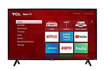 TCL 40-inch 1080p Smart LED Roku TV - 40S325 2019 Model