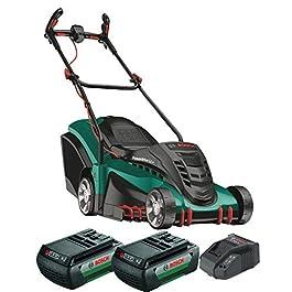 Tondeuse à gazon sans-fil Bosch – Rotak 430 LI (2 Batteries, 36V, Bac de Ramassage 50 L, chargeur, Carton, Largeur…