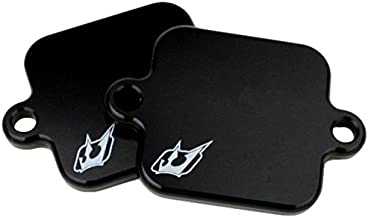 Driven Racing (DSBlock 2) Black Exhaust Smog Block-Off Plate
