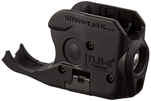 Streamlight 69275 TLR-6 Tactical Pistol Mount Flashlight 100 Lumen with Integrated Red Aiming Laser Designed Exclusively and Solely for Sig Sauer P238/P938, Black
