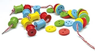 Threading Buttons & Spools by The Original Toy Company
