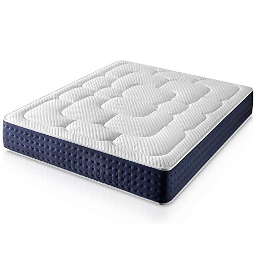 Materasso Matrimoniale in Memory Foam Royal Confort 180X200, Altezza 29 cm