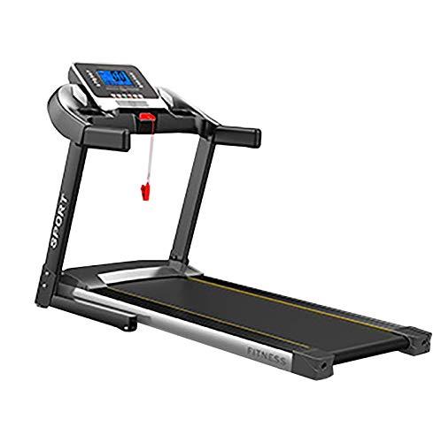 Cinta de correr plegable Cardio Fitness Ejercicio Multifunción Máquina para correr en casa Caminar Correr para el hogar Oficina Entrenamiento Bajo nivel de ruido WiFi ideal Conexión Bluetooth