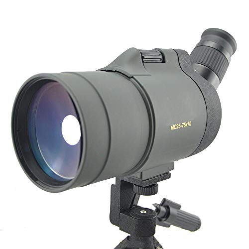 Fantastic Deal! TANGADYL 25-75x70 HD Spotting Scope with Tripod and Phone Adapter and Carry Case wit...