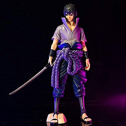 BZL POP Naruto Uchiha Sasuke Figurine Anime Figurine PVC Statue PVC Décoration Ornements Objets Objets Jouets Animations Personnage Modèle 23cm