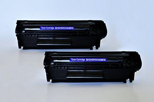 Q2612A Printing Saver 2x Toner compatibili per HP LaserJet 1010, 1012, 1015, 1018, 1020, 1020 Plus, 1022, 1022N, 1022NW, 3015, 3020, 3030, 3050, 3052, 3055, M1005 MFP, M1319F MFP