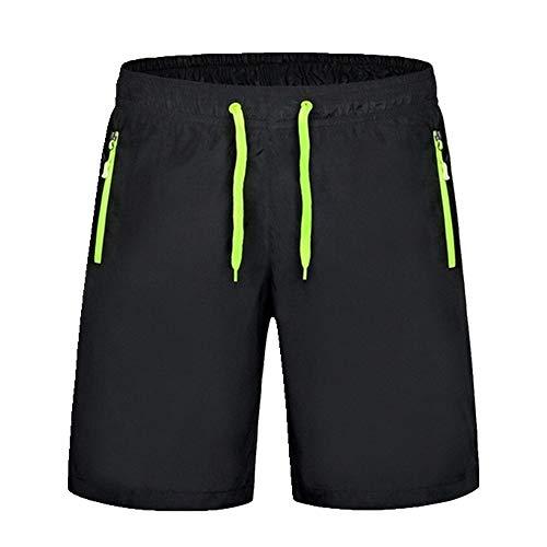 U/A Été Hommes Séchage Rapide Shorts Casual Mens Short de Plage Respirant Pantalon Homme Shorts - Vert - 3XL