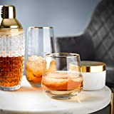 Butlers TOUCH OF GOLD 6x Longdrinkglas mit Goldrand 480ml