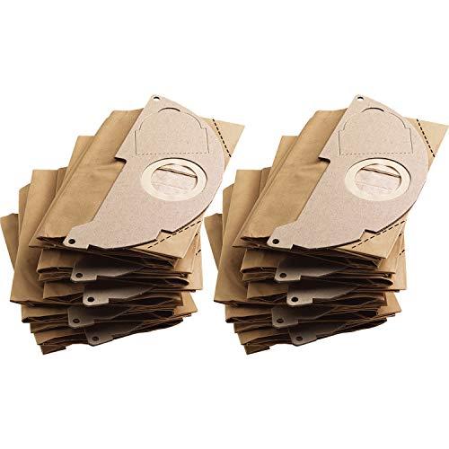 Kärcher 6.904-322.0 Papierfilterbeutel, 2er Pack (2 x 5 Stück)