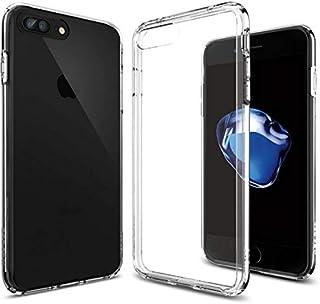 Spigen iPhone 8 PLUS, 7 PLUS, Ultra Hybrid Case, Crystal Clear