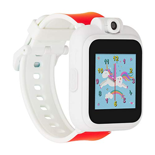 iTouch Playzoom Kids Smart Watch with Swivel Camera, Photo Filters, Video Recorder, Stopwatch, Calendar, Sound Animations, Educational and Active Games (Rainbow)