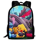 chu, Toot-hless, Stitch Cool Backpack Outdoor Travel Rucksack Casual Daypack School Bag College Backpack