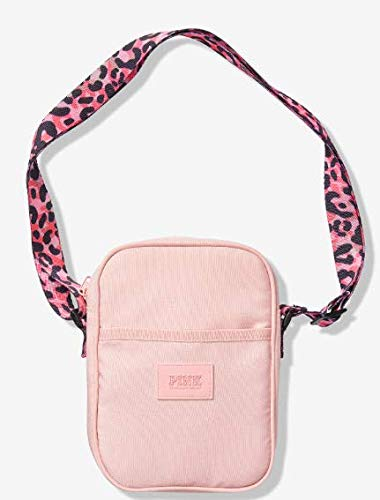 rare - hard to find - VICTORIA SECRET PINK LEOPARD PINK. - SPORT CROSSBODY BAG - LIMITED - RARE - SOLD OUT