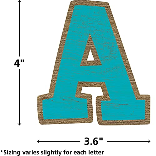 """Teacher Created Resources Painted Wood Bold Block 4"""" Letters Combo Pack (TCR8820) Photo #2"""
