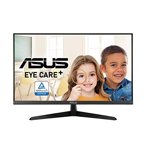 """ASUS VY279HE 27"""" Eye Care Monitor, 1080P Full HD, 75Hz, IPS, 1ms,..."""