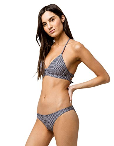 Hurley Women's Quick Dry Compression Solid Bikini Bottom