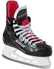 BAUER Mäns ishockey skridsko NSX Senior I 7 storlekar I idealiska för fritidsspelare I rostfritt stål kupa I bekväm löpning I lätt att sätta på