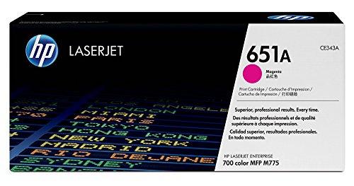 HP 651A | CE343A | Toner Cartridge | Magenta