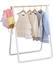 アイリスオーヤマ 洗濯物干し 室内物干し おしゃれ コンパクト収納 軽量 約2人用 ナチュラル物干し 幅約76.5×奥行約50.5×高さ約97.5cm NRMH-770B