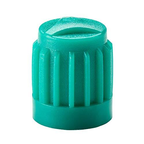 100x Tapas de válvula de automóvil en Verde de Hofmann Power Weight, Tapa de la válvula neumático, Tapas de válvulas de neumáticos