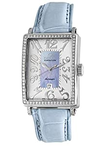 Gevril Women's 6207NL Glamour Automatic Blue Diamond Watch Review and For Sale and review