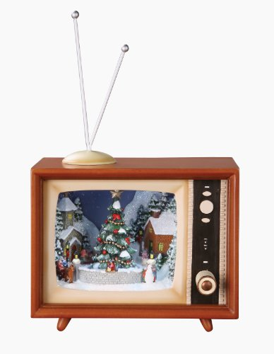 Retro Action Musicals by Roman 36432 Musical TV Sledders, 4.5-Inch