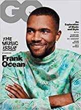 GQ MAGAZINE FRANK OCEAN COVER - NEW COPIES EXCLUSIVELY AVAILABLE FROM MAGAZINES AND MORE