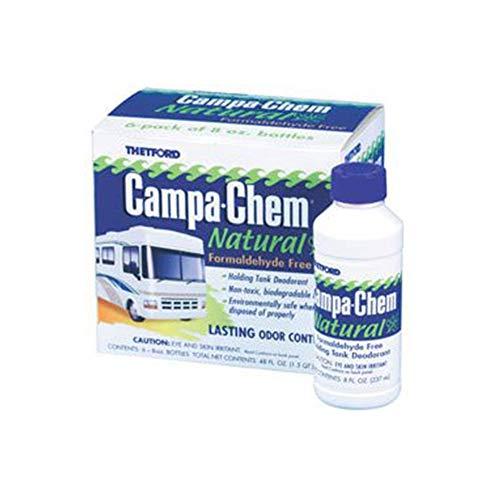 Thetford Corporation Campa-Chem 8oz. Natural Liquid Holding Tank Deodorant 6-Pack