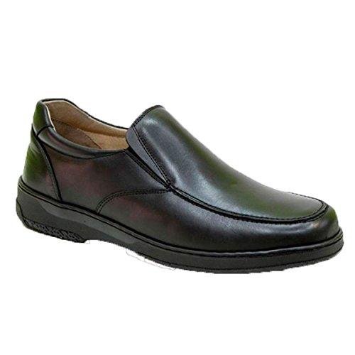 Zapato Hombre Gomas Especial para diabéticos Extra cómodo Primocx en Negro Talla...