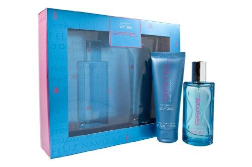 Davidoff Cool Water Game for Woman Eau de Toilette Spray 50 ml + Body Lotion 75 ml