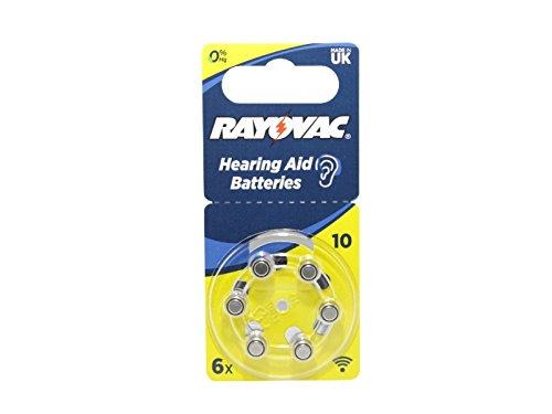 Batteriesatz kompatibel 1,45V FocusEar RS3 RS 3 Im Ohr Hörverstärker Hörgerät