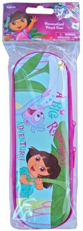 Dora the Explorer Personalized Tin Zipper Pencil Case by Dora the Explorer B0141N69HY | Vorzugspreis