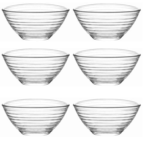 LAV 6tlg Glasschalen Derin Schalen Glasschale Dessertschale Vorspeise Glas Gläser 300ml