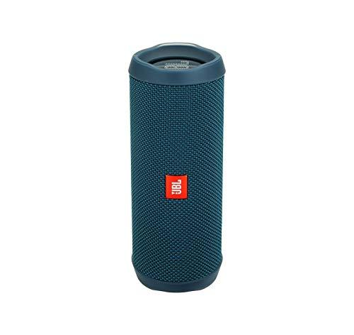 JBL Flip 4 Waterproof Portable Bluetooth Speaker - Ocean Blue