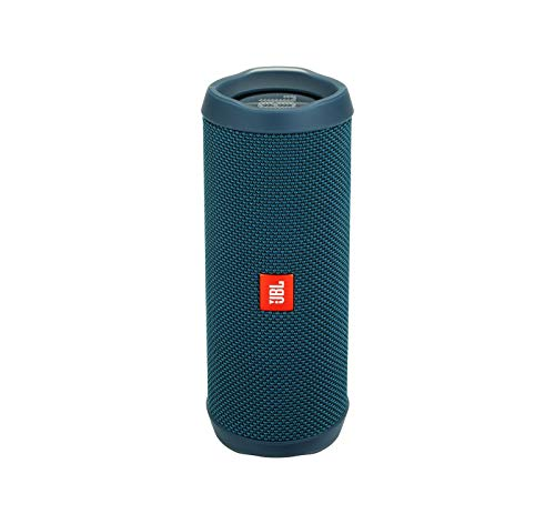 JBL Flip 4 Waterproof Portable Bluetooth Speaker - Ocean Blue