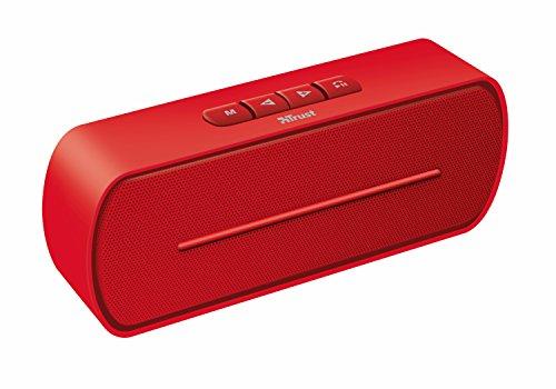 Trust Urban Fero Mini-Altoparlante Wireless Bluetooth, Rosso